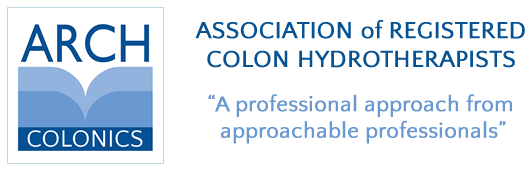 ARCH Association of Registered Colon Hydrotherapists. Modern naturopathic colon hydrotherapy